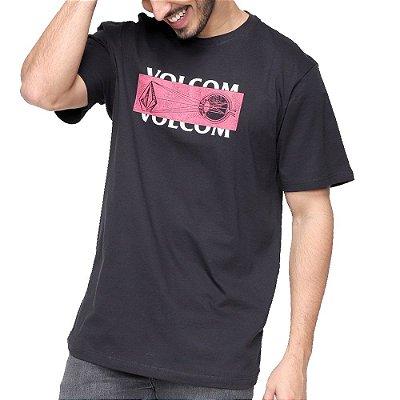 Camiseta Volcom Eye Masculina Preto