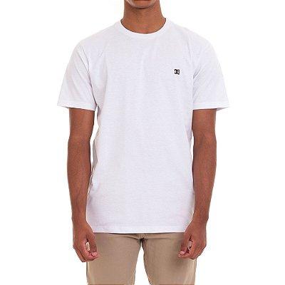 Camiseta DC Shoes Basic Star Masculina Branco