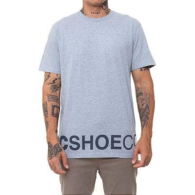 Camiseta DC Shoes Wepma Masculina Cinza Mescla