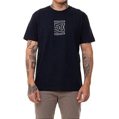 Camiseta DC Shoes Past Future Presente Masculina Preto