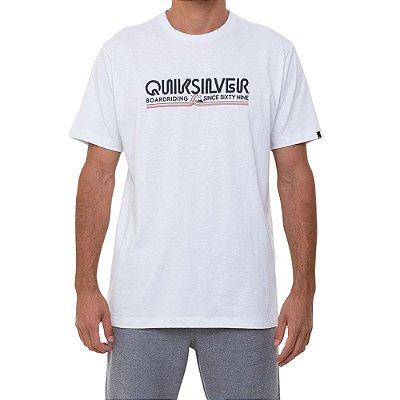 Camiseta Quiksilver Like Gold Masculina Branco
