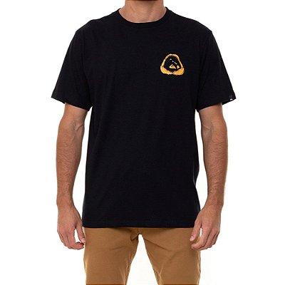 Camiseta Quiksilver Hi Ocean Relics Masculina Preto