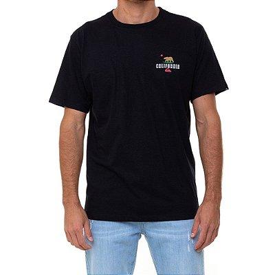 Camiseta Quiksilver CA Working Class Masculina Preto
