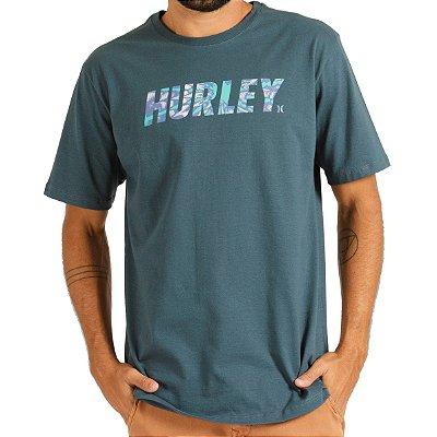 Camiseta Hurley Silk Hypnosis Masculina Verde