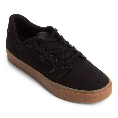 Tênis DC Shoes Anvil TX LA Preto/Marrom