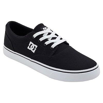 Tênis DC Shoes New Flash 2 TX Preto/Branco