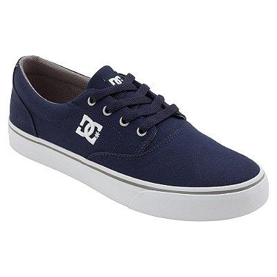 Tênis DC Shoes New Flash 2 TX Azul Marinho