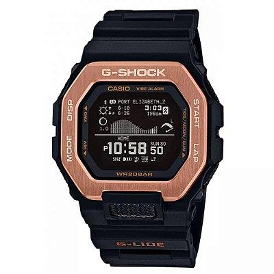 Relógio G-Shock GBX-100NS-4DR Masculino Preto/Marrom