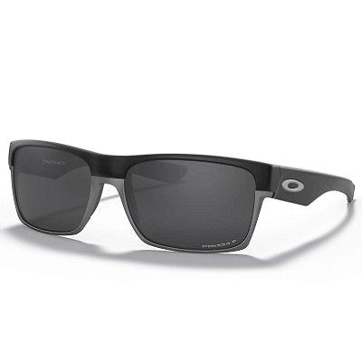 Óculos de Sol Oakley Two Face Black W Prizm Black Polarized