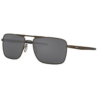 Óculos de Sol Oakley Gauge 6 Pewter W Prizm Black Polarized