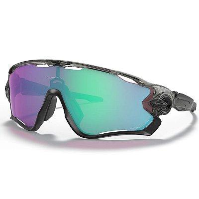 Óculos de Sol Oakley Jawbreaker Grey Ink W/ Prizm Road Jade