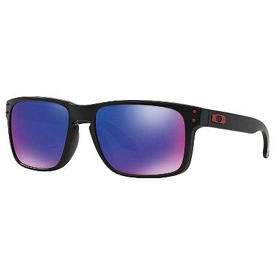 Óculos de Sol Oakley Holbrook Blk W/ Positive Red Iridium
