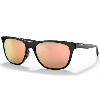 Óculos de Sol Oakley Leadline Blk W Prizm RoseGold Polarized