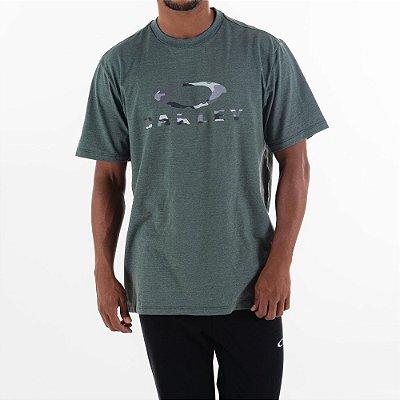 Camiseta Oakley Camo SS Verde