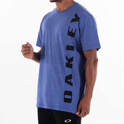 Camiseta Oakley Big Bark Masculina Azul