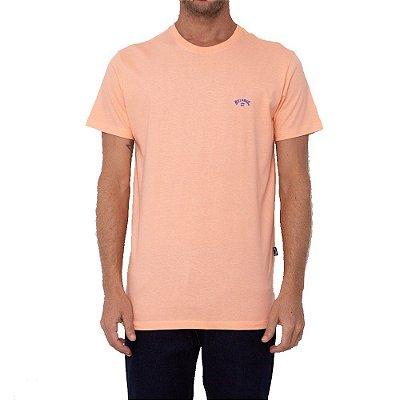 Camiseta Billabong Arch Wave I Masculina Laranja