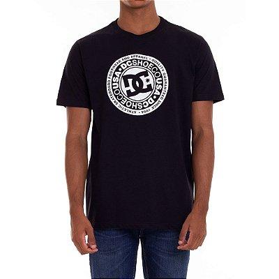 Camiseta DC Shoes Circle Star Masculina Preto