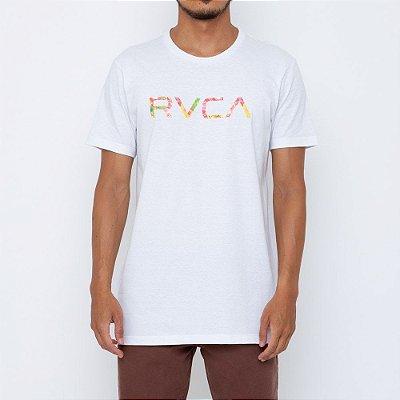Camiseta RVCA Big RVCA Wonder Masculina Branco