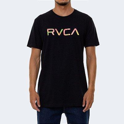 Camiseta RVCA Big RVCA Wonder Masculina Preto