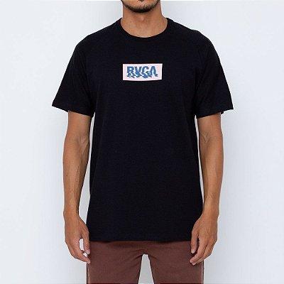 Camiseta RVCA Glimmer Masculina Preto