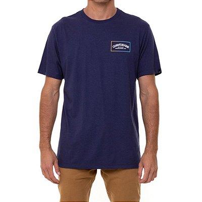 Camiseta Quiksilver Mellow Moon Masculina Azul Marinho