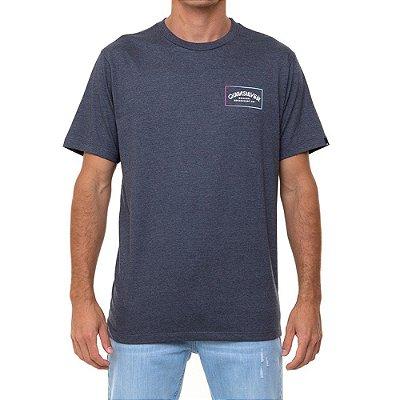 Camiseta Quiksilver Mellow Moon Masculina Cinza Escuro