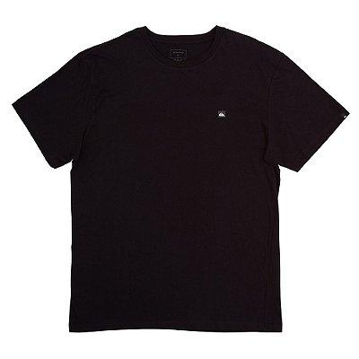 Camiseta Quiksilver Transfer Plus Size Masculina Preto