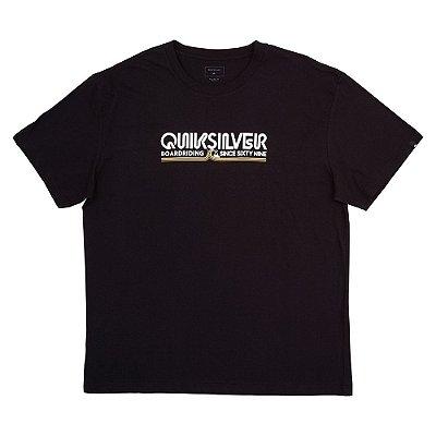Camiseta Quiksilver Like Gold Plus Size Masculina Preto
