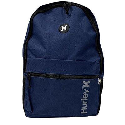 Mochila Hurley School Azul Marinho