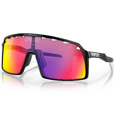 Óculos de Sol Oakley Sutro Polished Black W/ Prizm Road