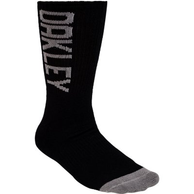 Meia Oakley Urban Crew Sock Cano Alto Preto