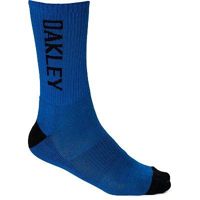 Meia Oakley Urban Crew Sock Cano Alto Azul