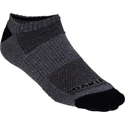 Meia Oakley No Show Sock Cano Invisível Preto