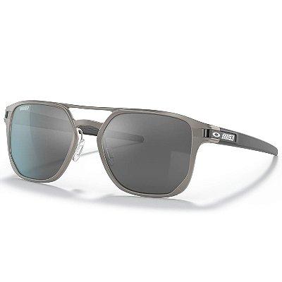 Óculos de Sol Oakley Latch Alpha Satin Olive W/ Prizm Black