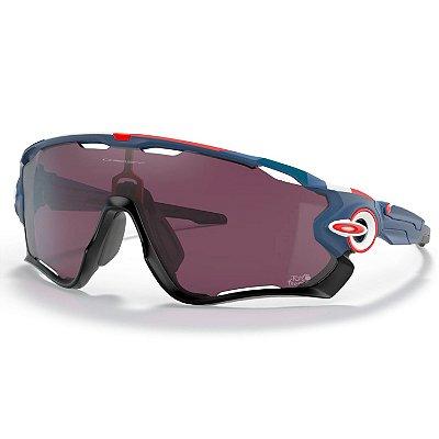 Óculos de Sol Oakley Jawbreaker Matte Poseidon W/ Prizm Road Black