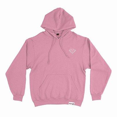 Moletom Diamond OG Brilliant Hoodie Plus Size Masculino Rosa