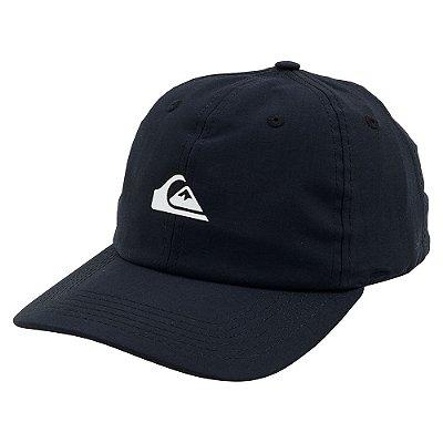 Boné Quiksilver Aba Curva Logo Essentials Preto