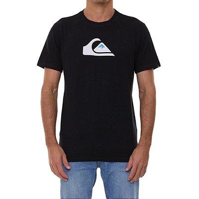 Camiseta Quiksilver Comp Logo Masculina Preto