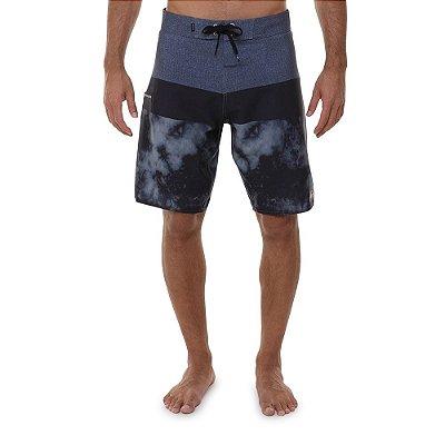 Bermuda Quiksilver Surfsilk Panel Camo 20 Masculino Cinza Escuro
