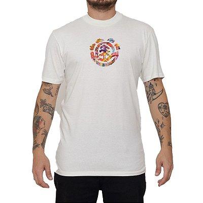 Camiseta Element Shroom Tree Masculina Off White