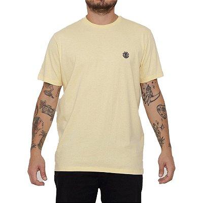 Camiseta Element Basic Crew Masculina Amarelo