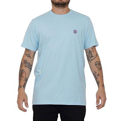 Camiseta Element Basic Crew Masculina Azul Claro