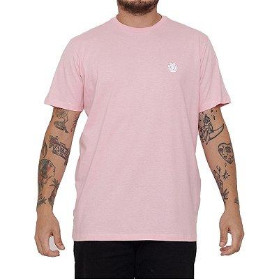Camiseta Element Basic Crew Masculina Rosa