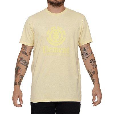 Camiseta Element Vertical Masculina Amarelo