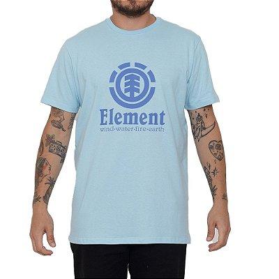 Camiseta Element Vertical Masculina Azul