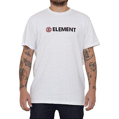 Camiseta Element Blazin Masculina Branco
