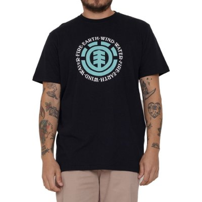 Camiseta Element Seal Masculina Preto