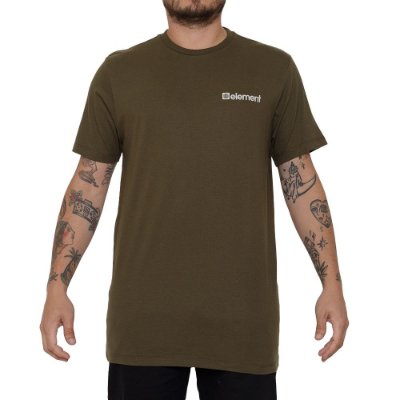 Camiseta Element Joint Masculina Verde