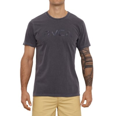 Camiseta RVCA Big RVCA Masculina Preto