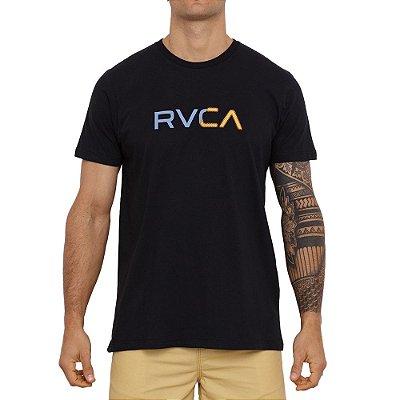 Camiseta RVCA Scanner Masculina Preto